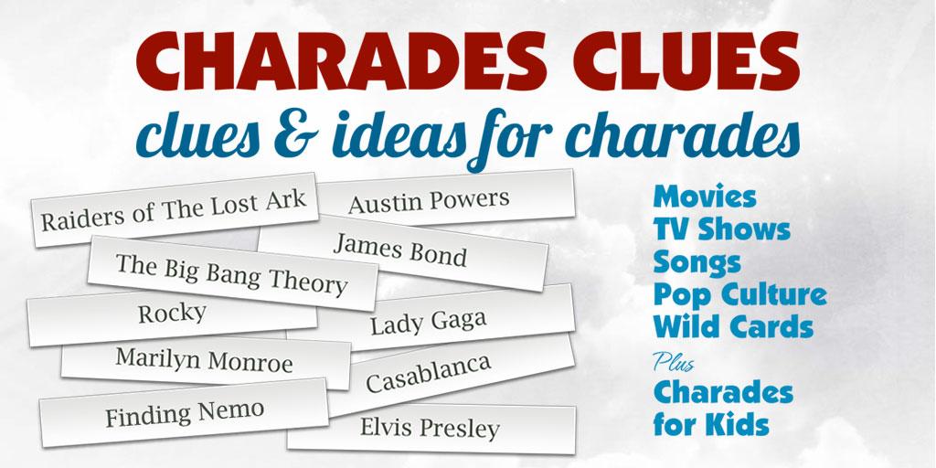 Awesome Charades Ideas!