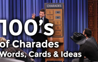 charades game word list