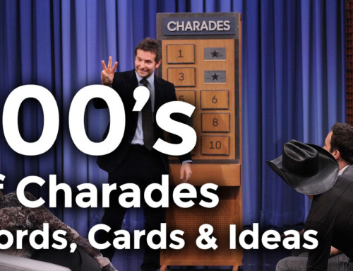 Charades Game Word List and More