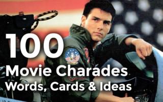 movie charades printable