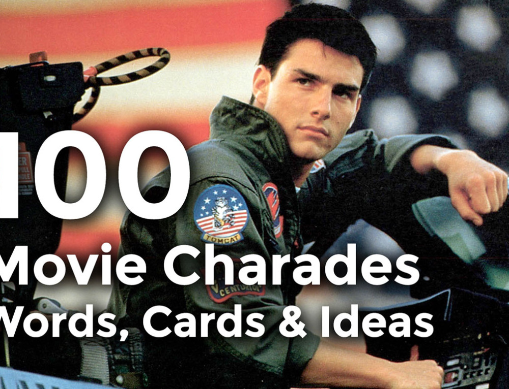 Movie Charades Printable From Any Computer